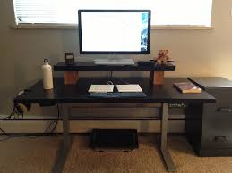 Computer Desk Adjustable Height by Images Of Adjustable Height Computer Desk Home And Garden Decor