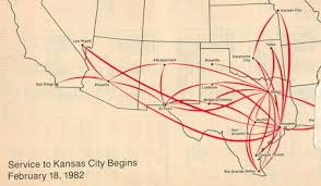 swa route map airline maps