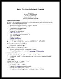 Spa Front Desk Job Description Cover Letter Receptionist Resume Samples Car Dealership