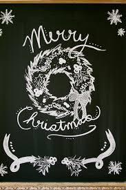 eab designs christmas chalkboard