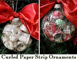 curled paper ornaments featuring mandy from birdie