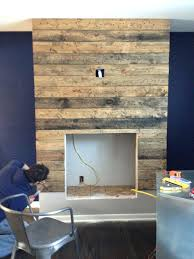 how to build electric fireplace surround building a custom