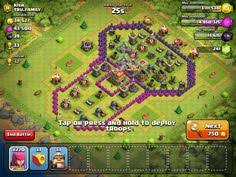 clash of clans single player level 43 crystal crust
