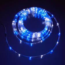 blue white mini rope light 16 u c products arl100bw