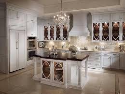 kitchen trend glass cabinets interior design ideas