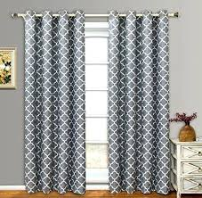 fabulous grommet patio door curtains decorating with ultimate