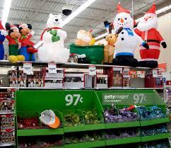 christmass at walmart clearance outsideswalmart