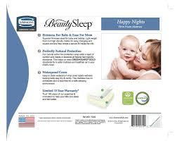Simmons Crib Mattresses Simmons Sleep Happy Nights 6 Crib Mattress Reviews