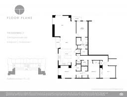 Plan 3 by The Ogden Condos Of Las Vegas 150 N Las Vegas Blvd