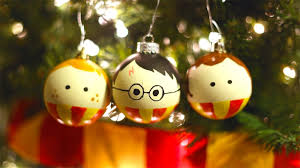 how to make harry potter and hermione ornaments