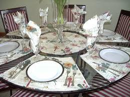 Placemats For Round Table 25 Best Placemats Images On Pinterest Christmas Quilting Table