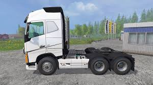2015 volvo tractor trailer fh16 2012 v1 2 for farming simulator 2015