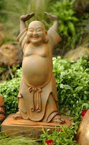 laughing buddha happy budha buddhagardensculptures