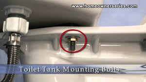 Eljer Toilet Repair Parts How To Fix A Toilet Parts Tank Mounting Bolts Youtube