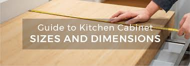 what sizes do sink base cabinets come in guide to kitchen cabinet sizes and standard dimensions