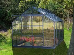 destockage serre de jardin chalet jardin boutique serre grise en verre sekurit 86 4 65