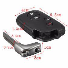 lexus key case cover belanja new 4 buttons remote folding uncut flip key case shell for