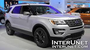 Ford Explorer 3 Rows - 2017 ford explorer xlt 4wd u2013 7 passenger suv youtube