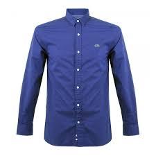 lacoste bureau 302 found lacoste lacoste live fit blue shirt