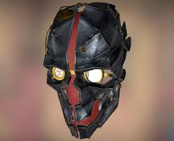Dishonored Mask Artstation Dishonored Corvo U0027s Mask Fernando Henrique