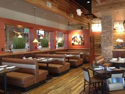 vintage glass shade pendants for rustic western theme eatery