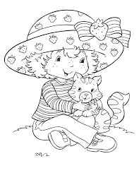 Strawberry Shortcake Halloween Coloring Pages by Strawberry Shortcake Coloring Pages Strawberry Shortcake 7866