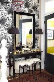 Entryway Wall Entryway Wall Decor Ideas Entryway With Patterned Walls Wooden