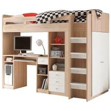 lit mezzanine avec bureau et rangement lit mezzanine avec bureau pas cher
