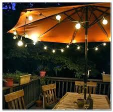 solar powered umbrella lights wonderful umbrella led lights offset patio umbrella led lights