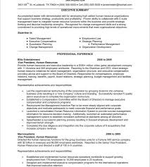 Sample Resume For Hr And Admin Executive Sample Hr Resumes Hitecauto Us