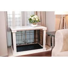 Diy End Table Dog Crate by Best 25 Pet Crates Ideas On Pinterest Crate Cover Dog Crate