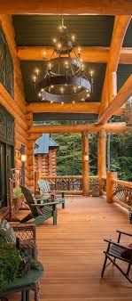 cabin porch 607 best rustic porches images on pinterest cozy cabin log