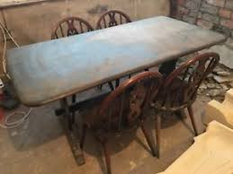 Ercol Dining Table And Chairs Vintage Ercol Dining Table And Chairs Cottage Style Ebay