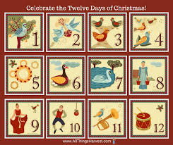all things harvest traditions twelve days of