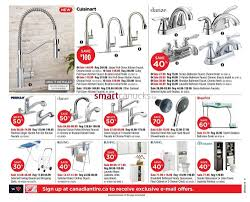 Kitchen Faucets Canadian Tire Canadian Tire Atlantic Flyer October 2 To 8