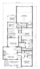 center colonial floor plans house plan 82014 at familyhomeplans com