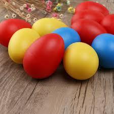 amazon com tinksky 12pcs plastic percussion musical egg maracas