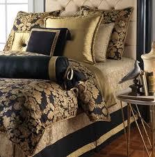 Top  Best Black Gold Bedroom Ideas On Pinterest White Gold - Black and gold bedroom designs