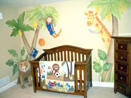 Monkey Curtains For Baby Room Bedding Jungle Animal Baby Room Theme It Would Be Good For Boy Cuz