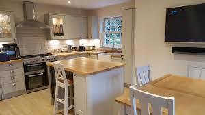 howdens burford grey with island kitchen pinterest creative