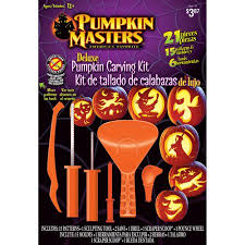 pumpkin carving tools pumpkin masters deluxe pumpkin carving kit walmart