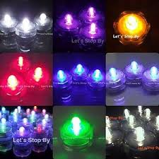 Waterproof Vase Lights 12 Led Submersible Waterproof Wedding Floral Decoration Tea Vase