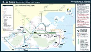 Map Of Rio De Janeiro Submission U2013 Official Map Unified Rio De Janeiro Transit Maps