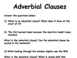 clauses worksheet bundle by krisgreg30 teaching resources tes