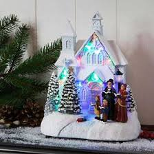 lit villages u0026 houses uk christmas world
