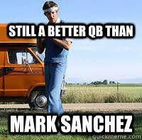 Uncle Rico Meme - why do we park on driveways and drive on parkways uncle rico