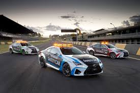 lexus v8 gs lexus roars into v8 supercars with rc f safety car supercars