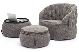 grey bean bag chair designer sets contempo package luscious grey bean bags australia