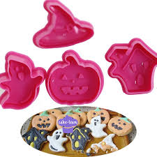 aliexpress com buy halloween fondant cake icing cutters plungers