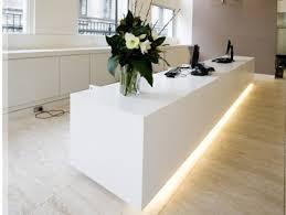 Illuminated Reception Desk Ct 141 Reception Desk Corianfurniture Yiyang Furniture Limited